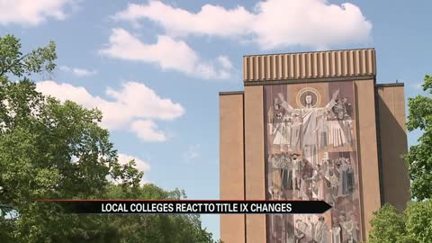Local colleges react to possible Title IX changes