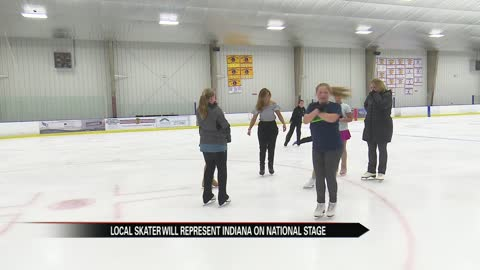 Local figure skating club is competing nationally for the first time