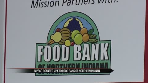 Local food bank receives $25,000 holiday donation to help families