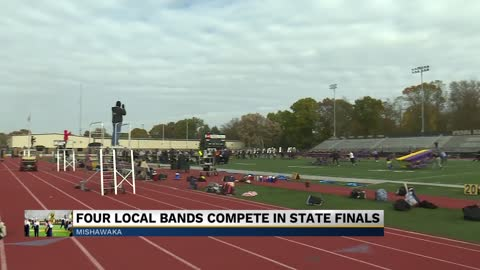 Local marching bands compete in 2019 ISSMA State Finals