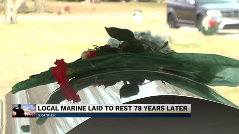 Local marine killed in Pearl Harbor laid to rest 78 years later