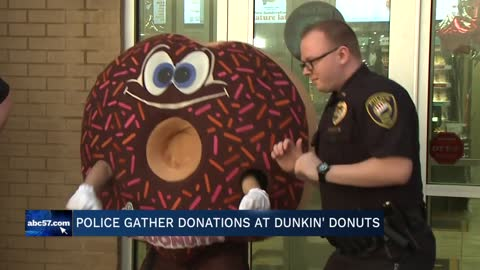 Local police departments raise money for Special Olympics Indiana