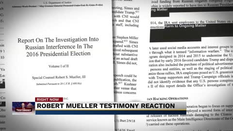 Local reaction to Mueller testimony