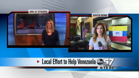 Local restaurant is accepting donations for those affected in Venezuela