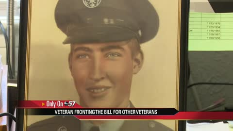Local veteran to front the bill for others on Veteran's Day
