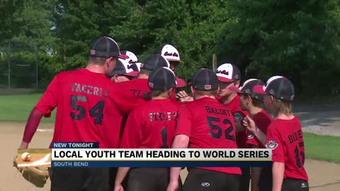 Local youth baseball team heading to World Series