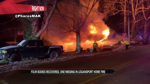 Six dead in house fire near Logansport