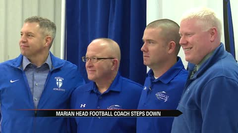 Longtime Marian coach Glon steps down, names replacement