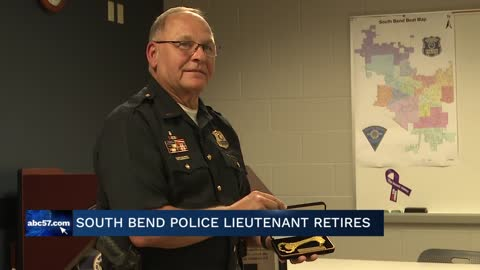 Lt. Gene Eyster retires after 47 years as an officer