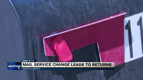 Mail service change leads to returns