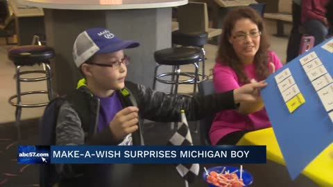 Make-A-Wish surprises Michigan City boy