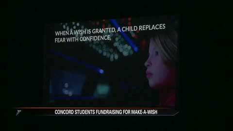 Concord Junior High School helps raise money for Make-A-Wish children in the community