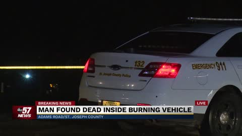 UPDATE: Police identify man found dead next to vehicle on fire, CMHU investigating