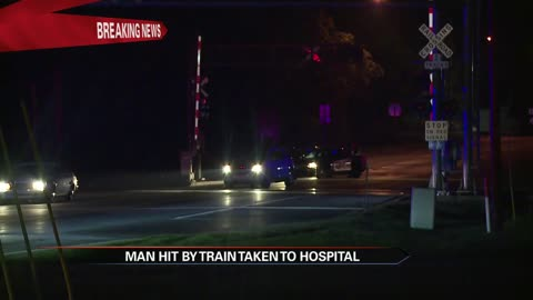 man hit by train in cassopolis