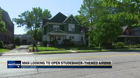 Studebaker enthusiast looking to open his second Air BNB hotel...