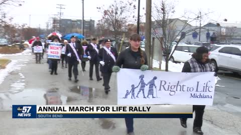 March for Life rally held in South Bend