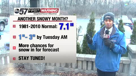 Could March be another snowy month?