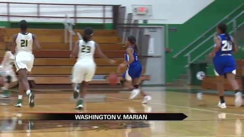 Marian girls improve to 8-1 with win over Washington