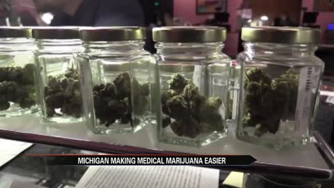 Michigan making medical marijuana easier to get through home deliveries