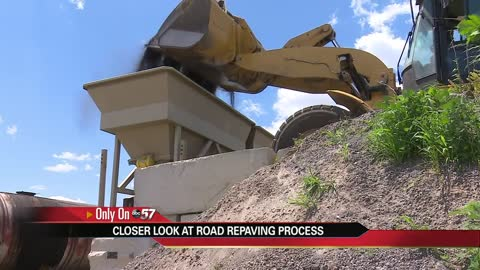 Marshall County gives closer look at road repaving process