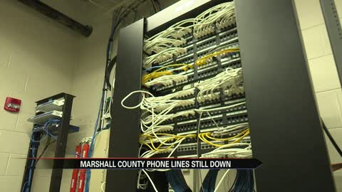 Contract signed to install new phone line system after Marshall...