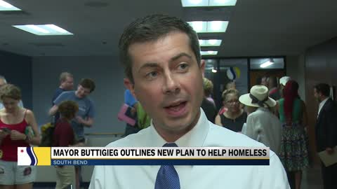 South Bend Mayor outlines new plan to help homeless permanently
