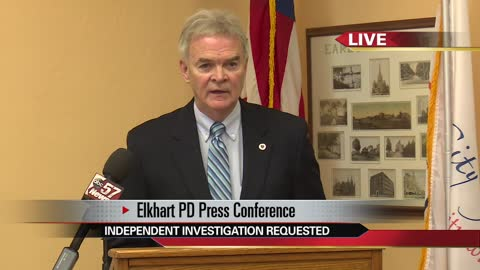 Mayor holds press conference about assessment of Elkhart Police Department