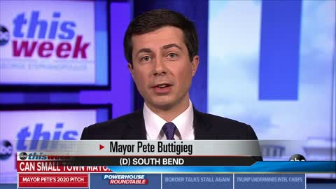 Mayor Pete Buttigieg appears on ABC's 'This Week'