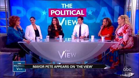 Mayor Pete meets with the women of The View