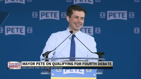 Mayor Pete on qualifying for the fourth democratic debate