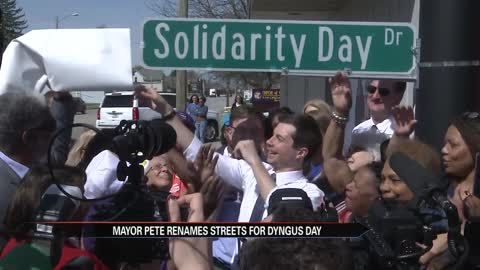 Mayor Pete renames streets to celebrate Dyngus Day