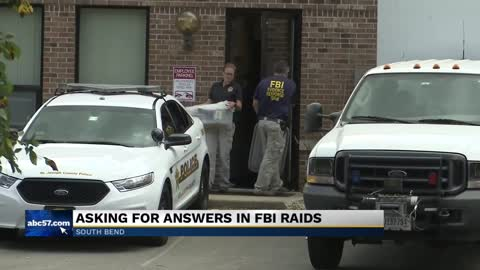 Mayoral nominee speaks out on recent FBI raids in South Bend