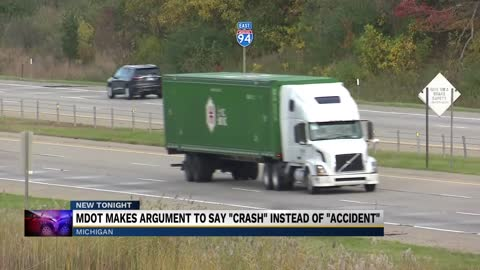 MDOT aims to change the terminology surrounding traffic crashes