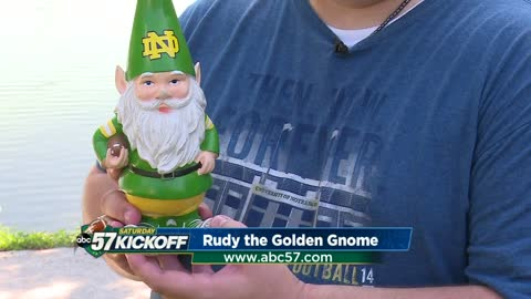 Meet Rudy the Golden Gnome