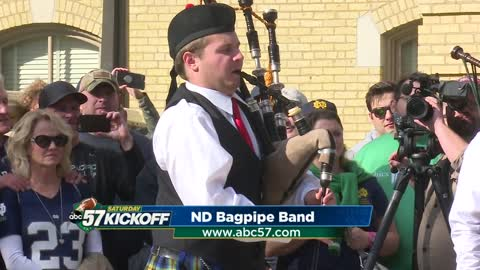 Meet the Notre Dame Bagpipe Band