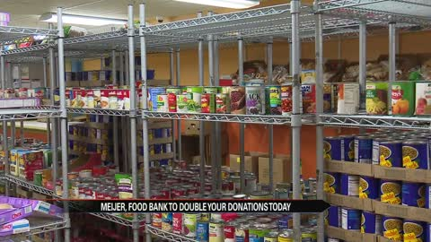 Meijer and local food bank partner for their Simply Give program