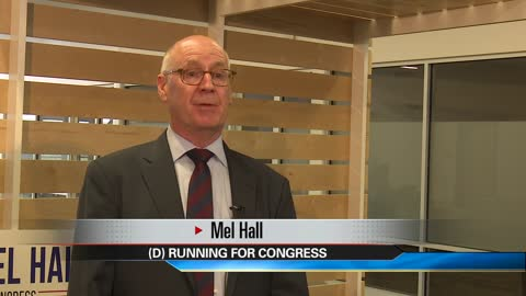 Mel Hall announces he's running for Indiana's 2nd Congressional District