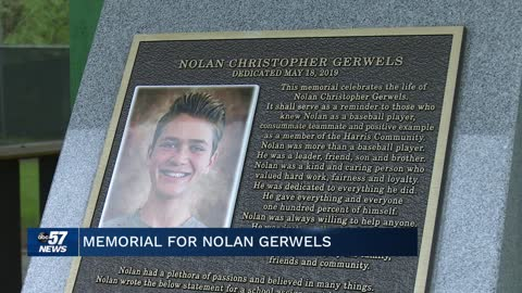 Community unveils memorial for Granger teen nearly one year after...