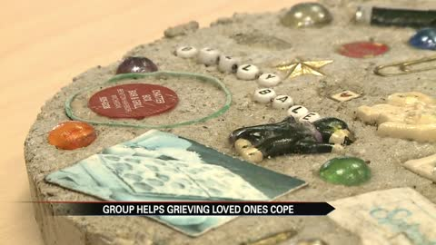 "Southwest Michigan group creates ""memory stones"" to remember loved ones"