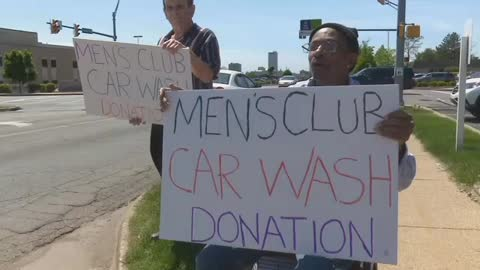 """Men's Club"" hosts car wash to get to Cubs game"