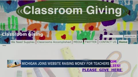Michigan joins website helping teachers afford classroom supplies