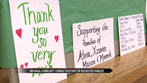 Michiana community coming together to help grieving Rochester families