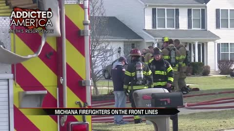 Michiana firefighters on the front lines against meth addiciton