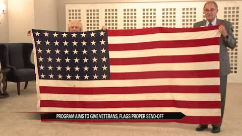 Michiana funeral home accepting worn out American flags