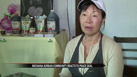 Local Michiana Korean community reacts to Peace talks between North and South Korea
