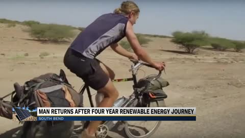 Michiana man returns from four-year renewable energy trip around...