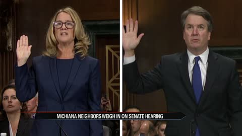 Michiana residents react to Kavanaugh, Blasey Ford testimony