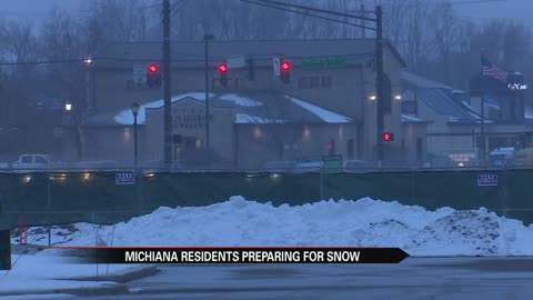 Many Michiana residents prepped, ready for winter storm Harper