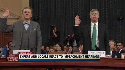 Michiana responds to first public impeachment hearing