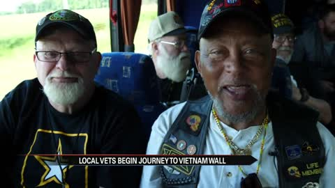 Michiana veterans headed to DC to see Vietnam Memorial
